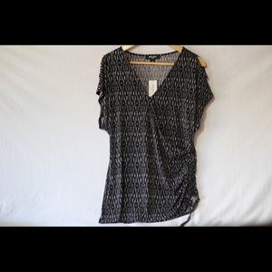 NWT Nine West blouse—Black and White